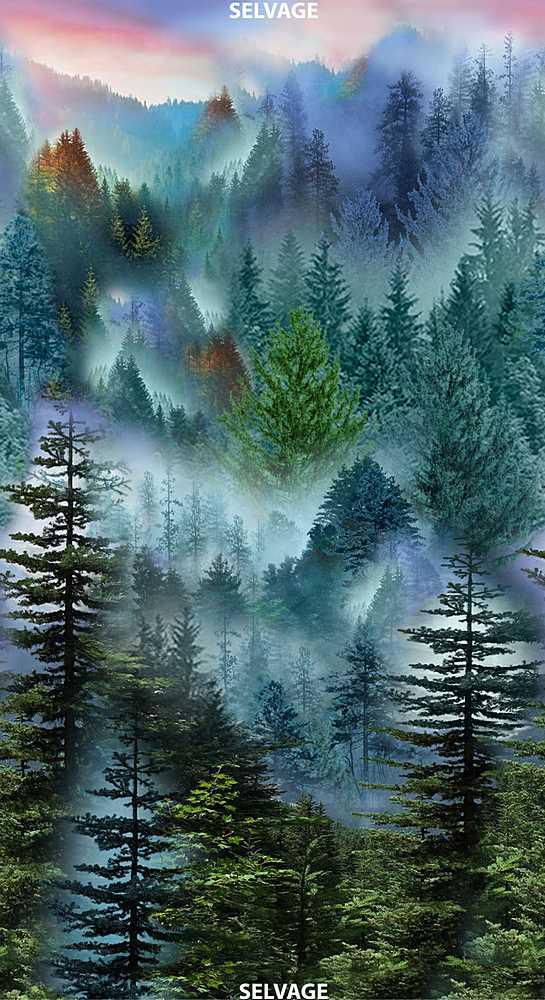 Panel C7464 Mountain Vista Forest