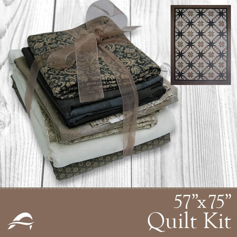 Starlight Waltz Quilt Kit - 57x75