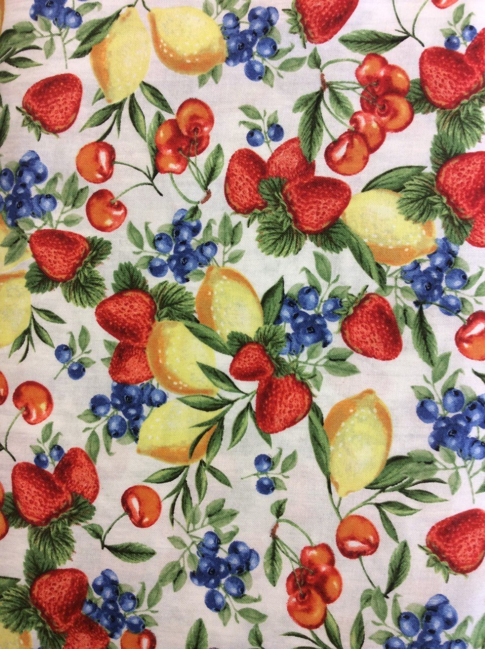 Berry Best fruit print color 153