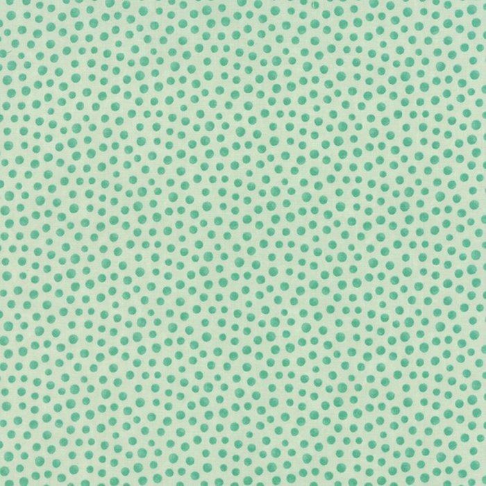 MODA REFRESH LINE COLOR : 17867-13 green/blue POLKA DOTS