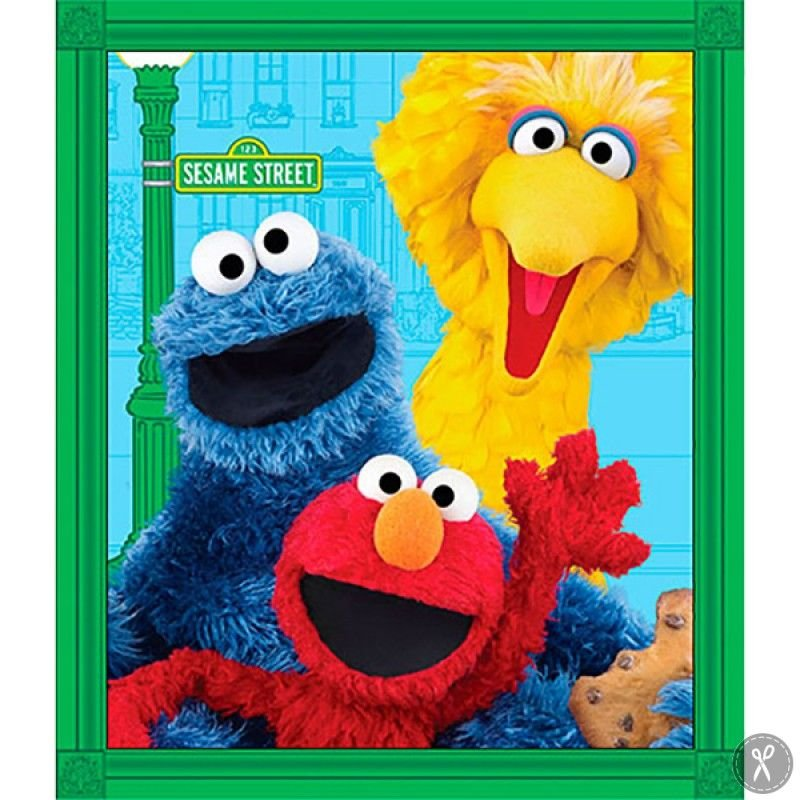 Elmo & Friends Panel
