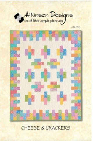 CHEESE AND CRACKERS QUILT PATTERN ATK-135 ATKINSON