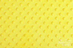 DOTTED YELLOW MINKIE