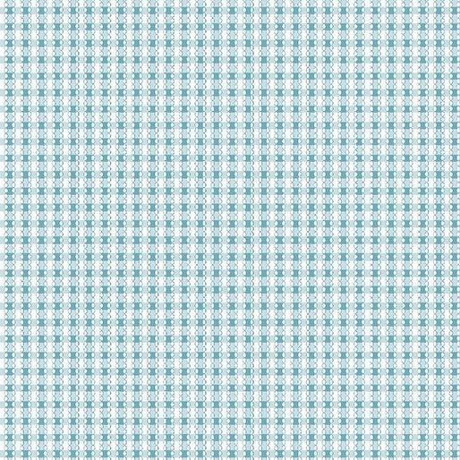 BENARTEX SIMPLY CHIC SKY BLUE GINGHAM 03814 05