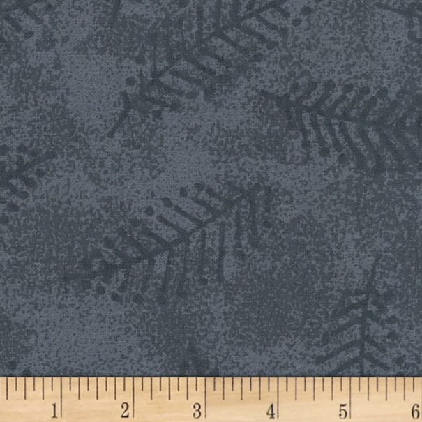 Westrade Collections Gray Fern Flannel 108