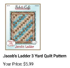 Jacob's ladder - 3 yd quilt pattern