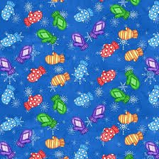 FLAKEY FRIENDS ROYAL BLUE WITH MITTENS B-8593-77