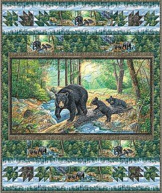 A New Adventure (Bear Quilt) Kit