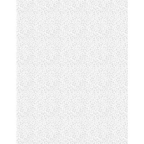 Pebble Dots White-on-White