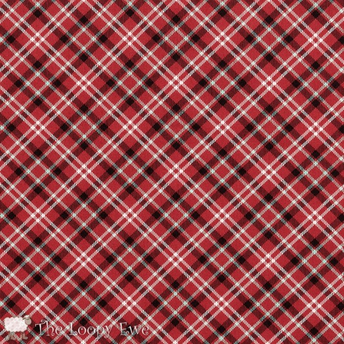 FEED COMPANY APPLE RED PLAID SWEETWATER MODA