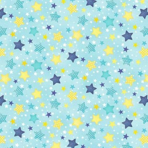 WILMINGTON TO THE MOON AND BACK TO THE MOON AND BACK BLUE/YELLOW STARS 82459