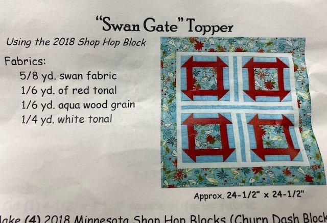 SWAN GATE TOPPER KIT 1618