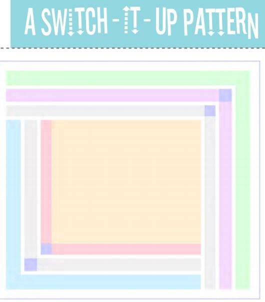 Frame Around 24 Quilt Pattern