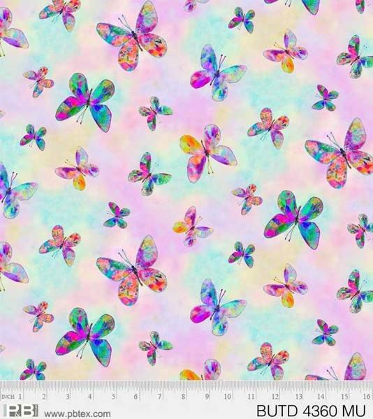 Butterfly dreams - tossed butterflies