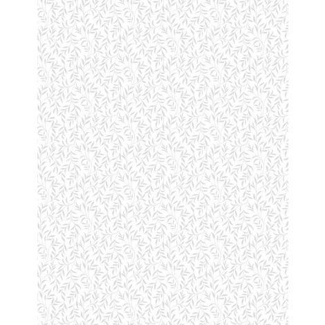 Vinery Leaves White-on-White