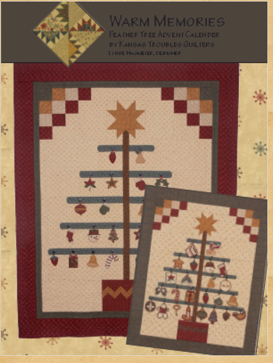 WARM MEMORIES PATTERN BY KANSAS TROUBLES QUILTERS