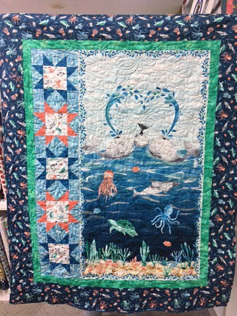 Whaley Loved Quilt kit 42 1/2 x 52 1/2