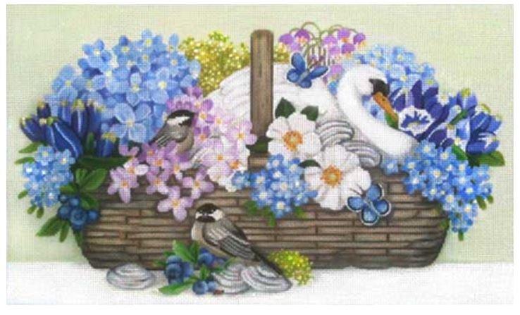 Swan Basket