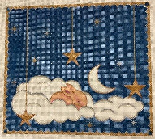 Sleeping Bunny Among the Stars