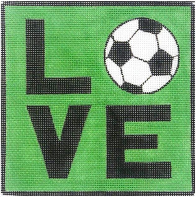 Love Soccer Square