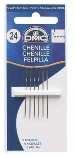 DMC Chenille Needles - Size 22