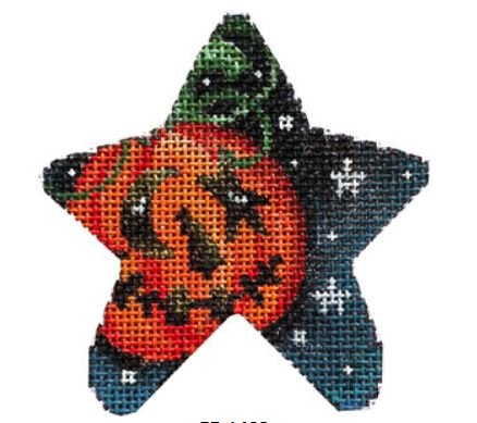 Pumpkin Halloween Mini Star