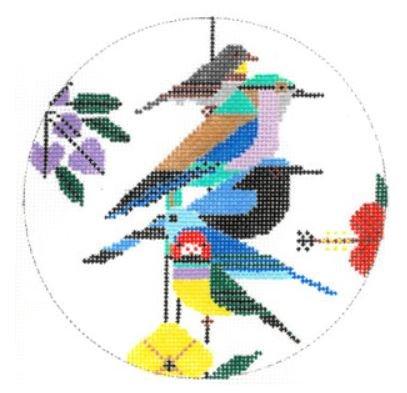 Rainforest Birds Ornament