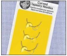 John James Curved Tapestry Needle - Assortment