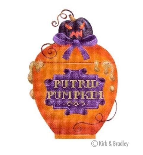 Putrid Pumpkin Poison Bottle