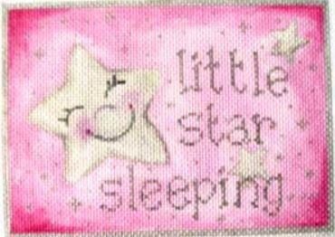 Pink Little Star Sleeping