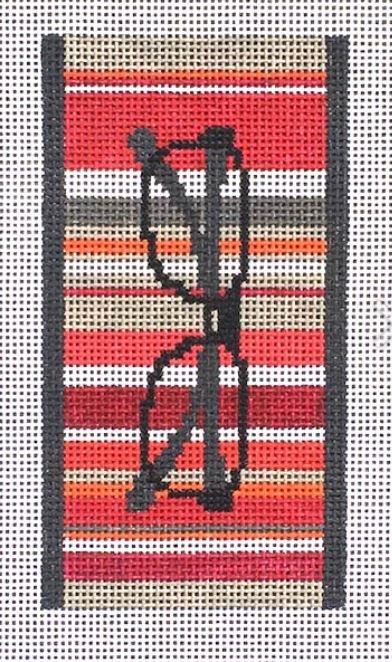 Stripes Eye Glass Case