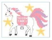 Unicorn Tooth Fairy Pillow Canvas