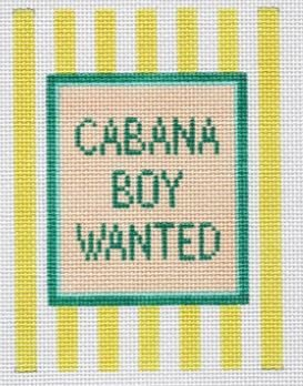 Cabana Boy Wanted