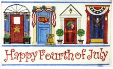 Fourth of July Doors