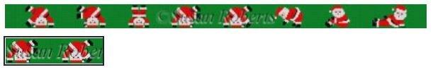 Tumbling Santas Belt