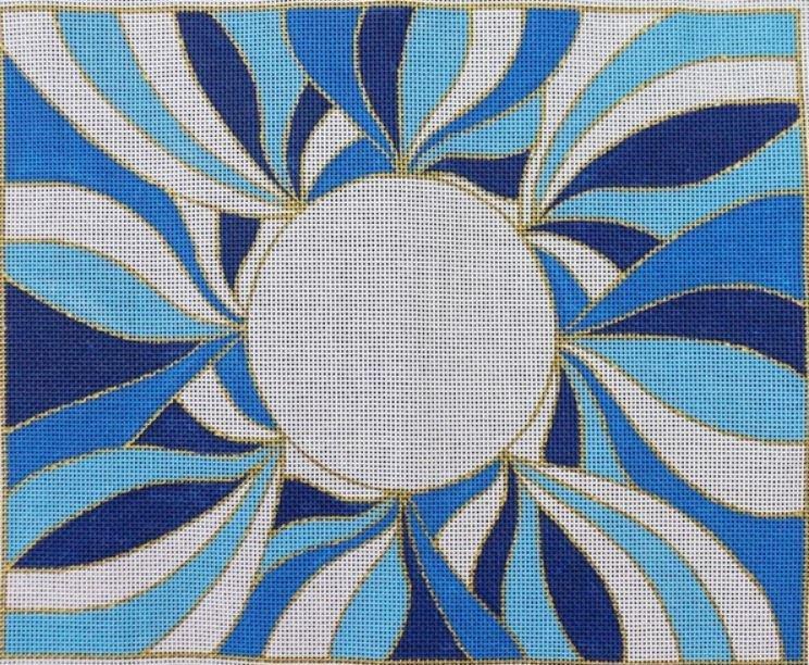 Blue Swirls Tallis