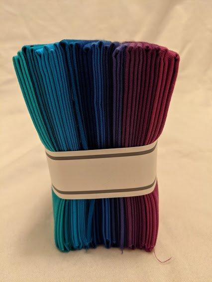 FQ Bundles: Kona Cotton - Peacock Palette