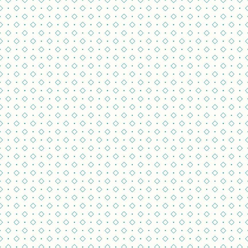 Bee Backgrounds Diamond Turquoise
