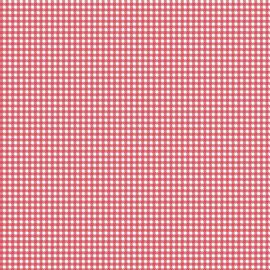 Farm Girl Vintage Gingham Red