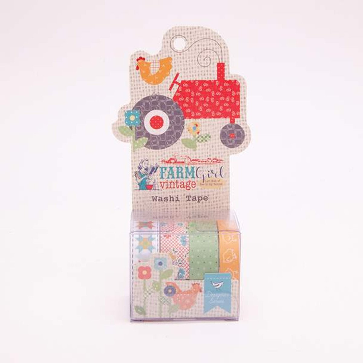 Washi Tape Farmgirl Vintage
