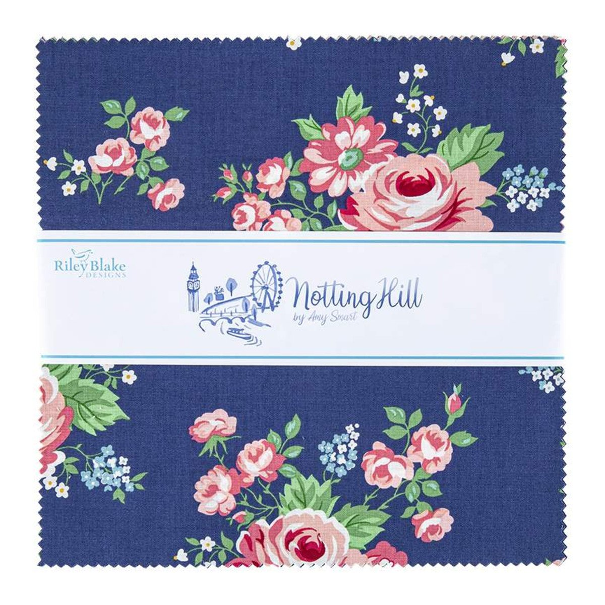 Notting Hill 10in Squares, 42pcs