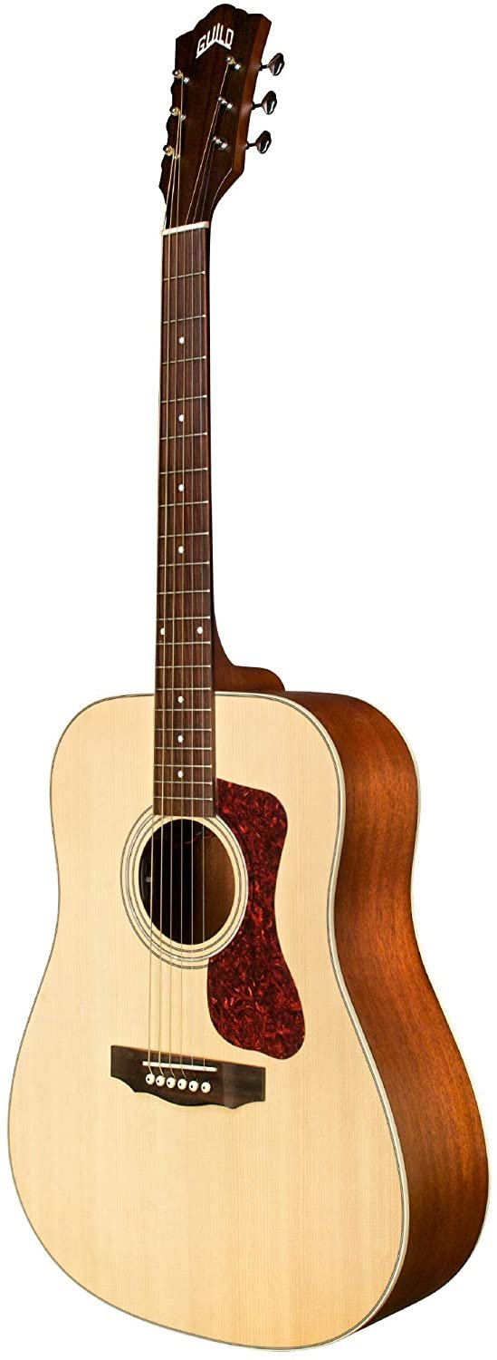 Guild Guitars D-240E Acoustic Guitar, in Natural, Dreadnought Archback Solid Top, Westerly Collection