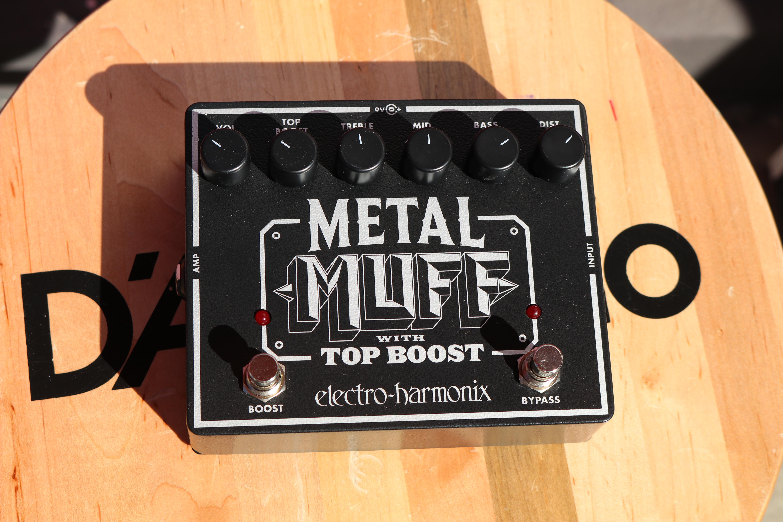 Electro-Harmonix Metal Muff Distortion with Top Boost