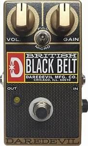 Daredevil British Black Belt (Black)