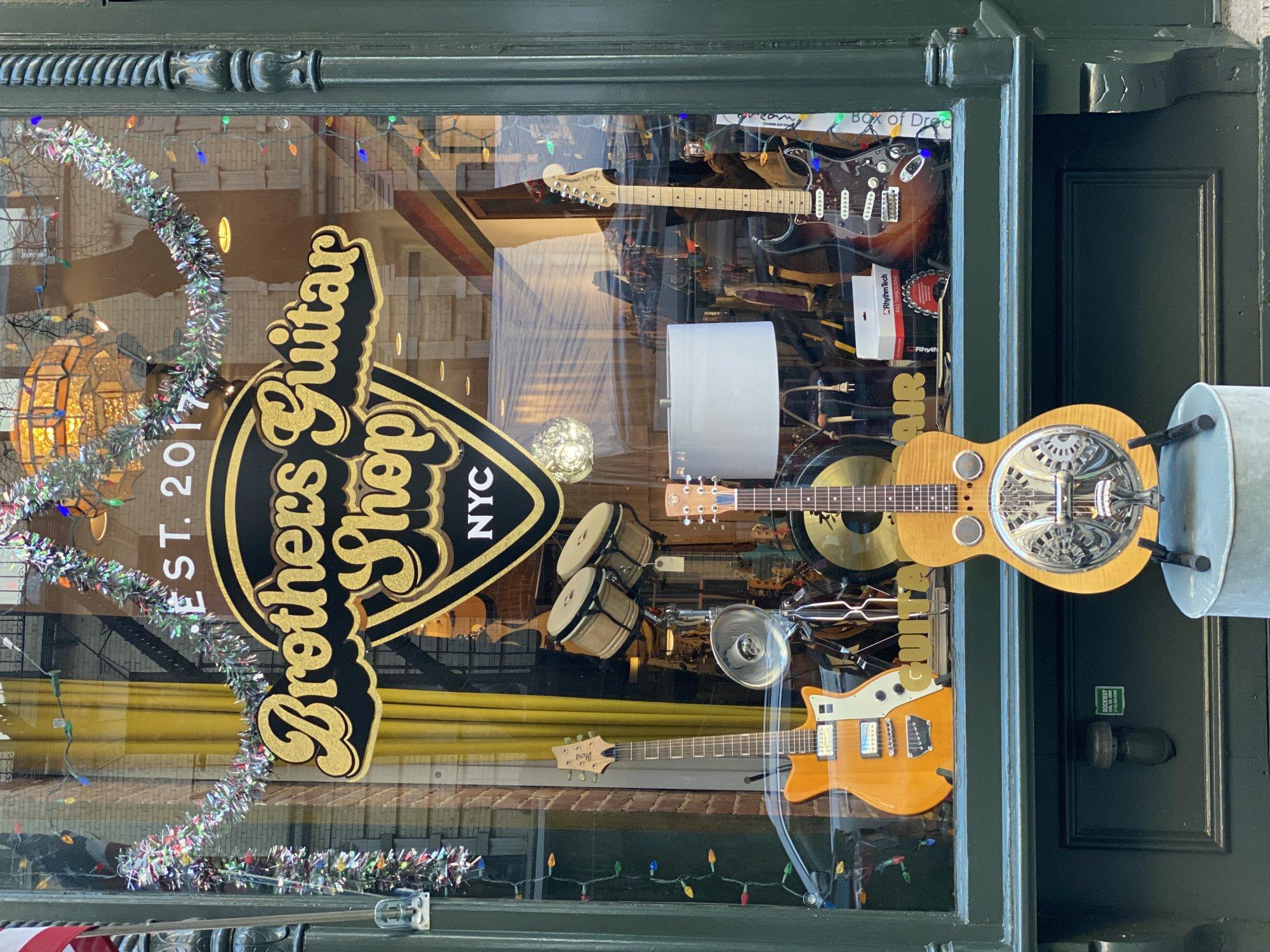 Dobro Hound Dog Deluxe Round Neck Acoustic Guitar