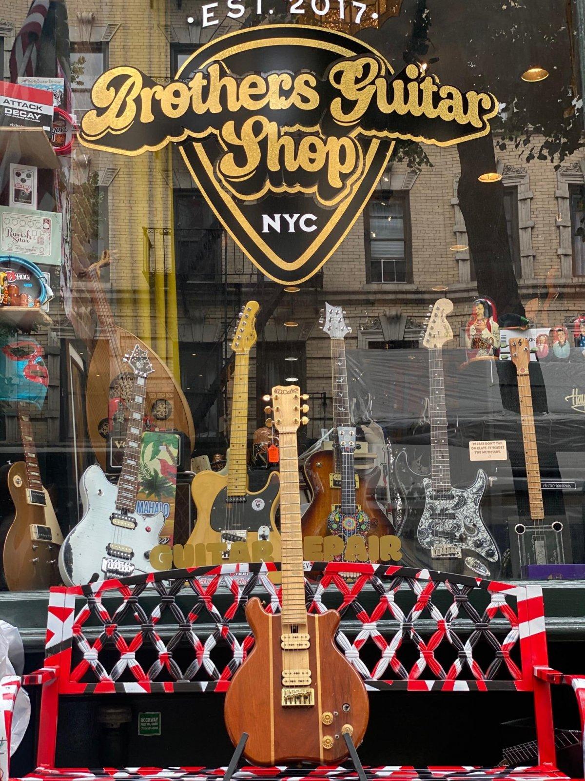 S.D. Curlee Walnut/Mahogany Guitar