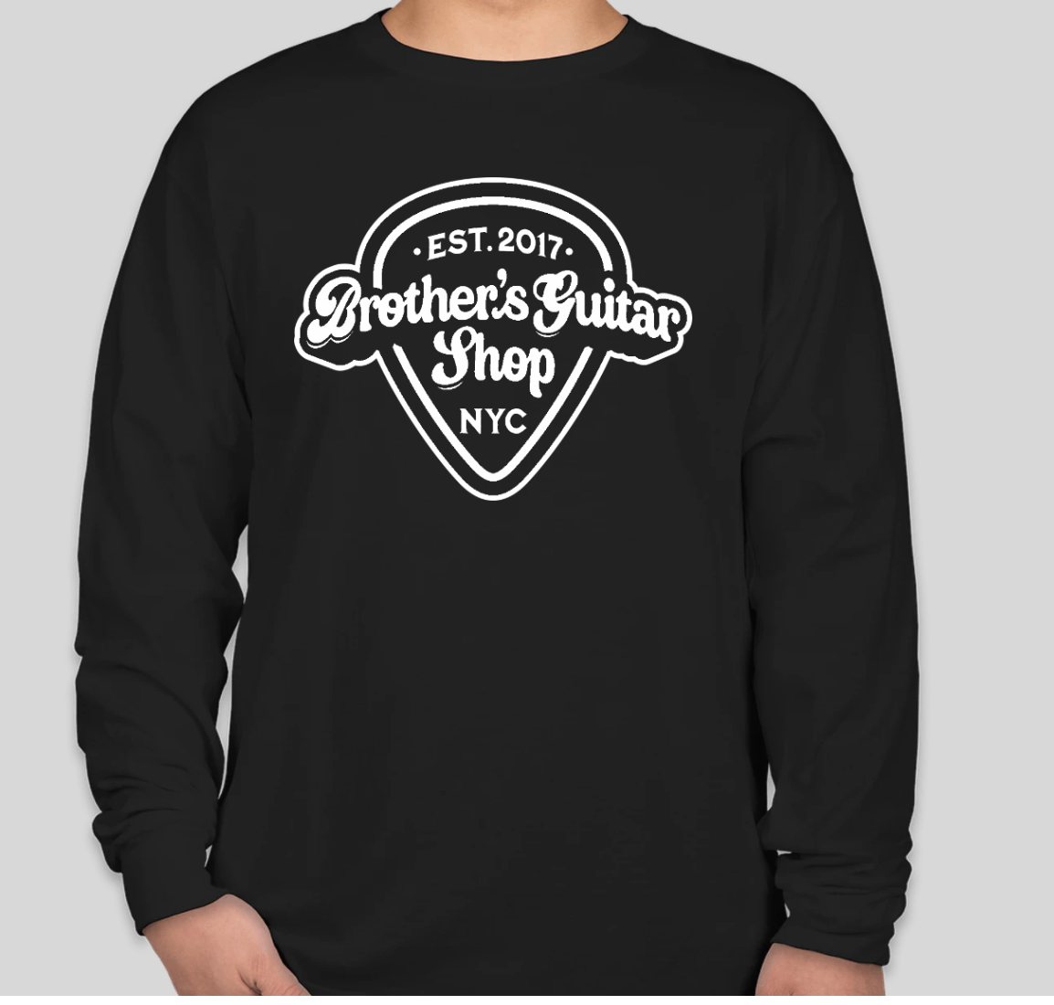 Brothers Logo T-Shirt Long Black