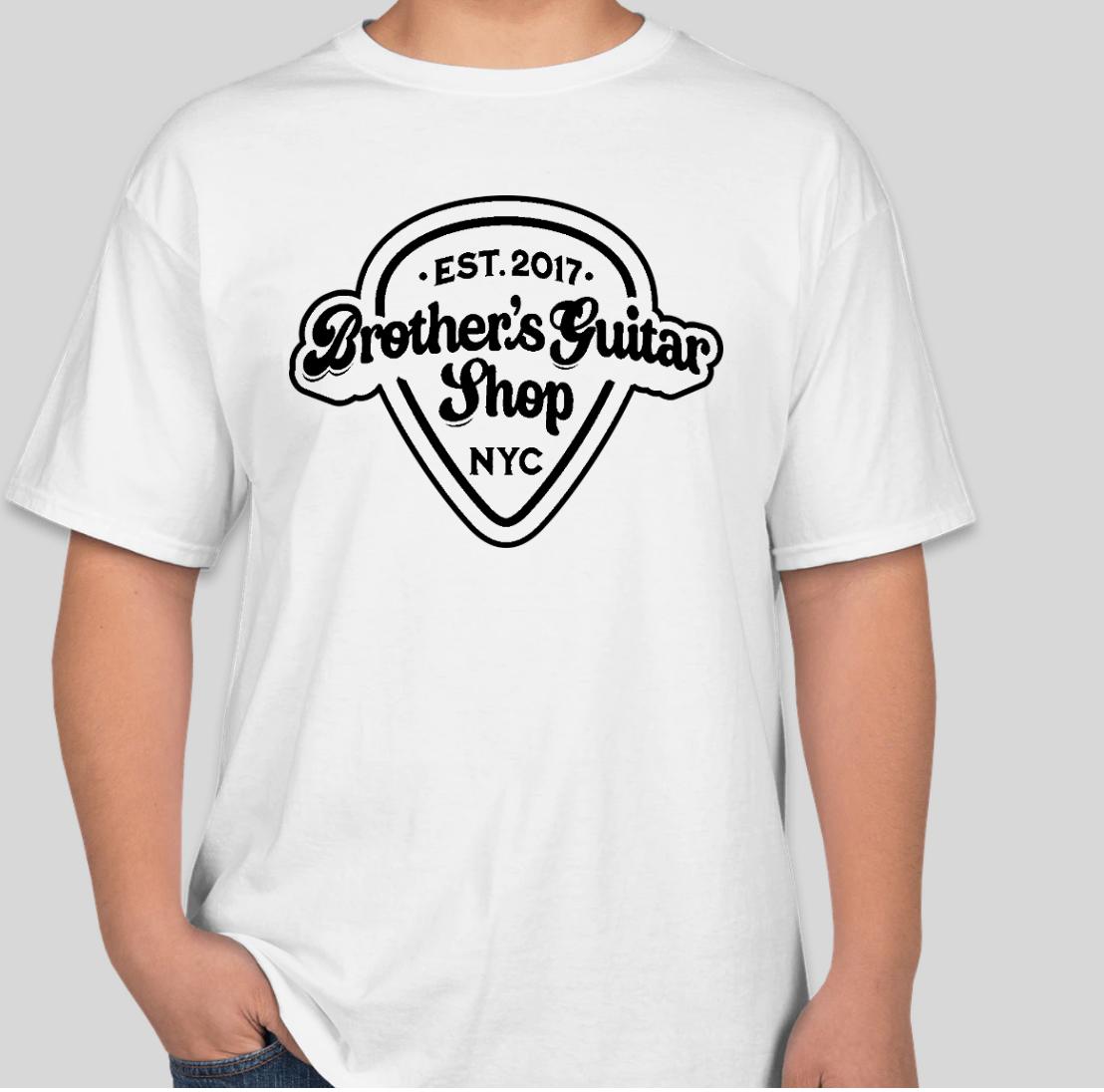 Brothers Logo T-Shirt Short White