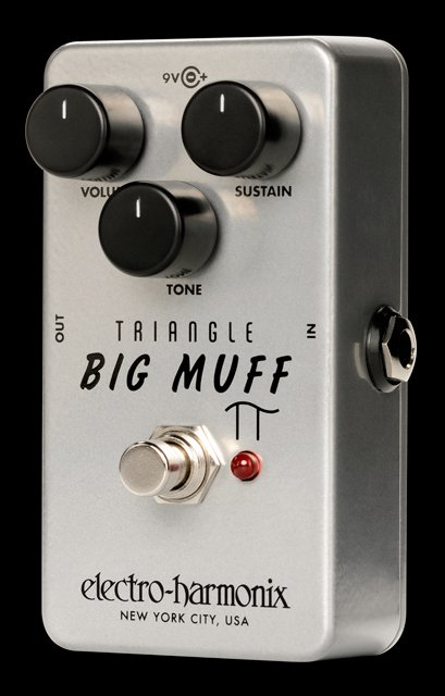Triangle Big Muff Pedlal Electro harmonix EHX
