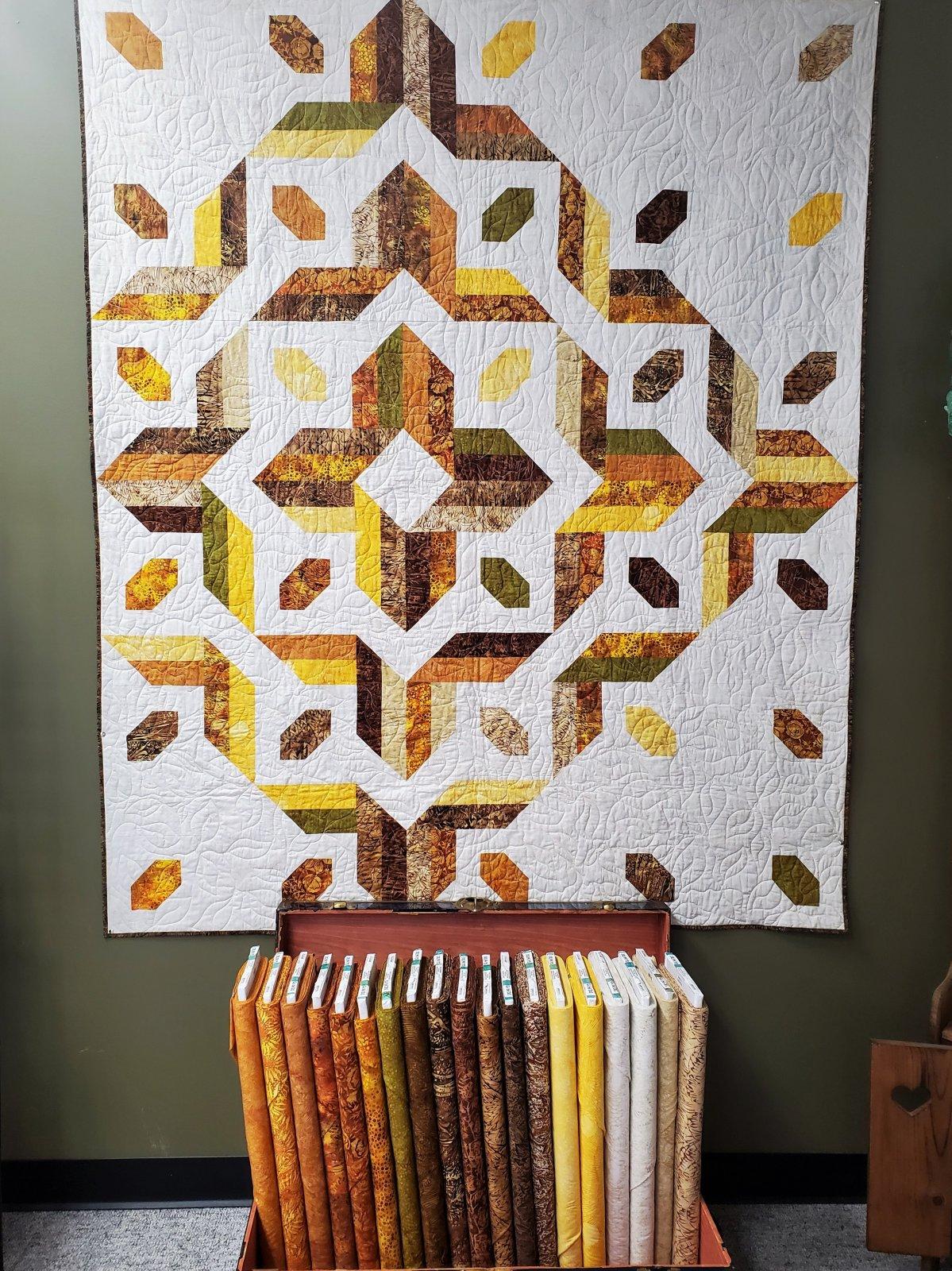 Mountain Gems Quilt Kit 60 x 72